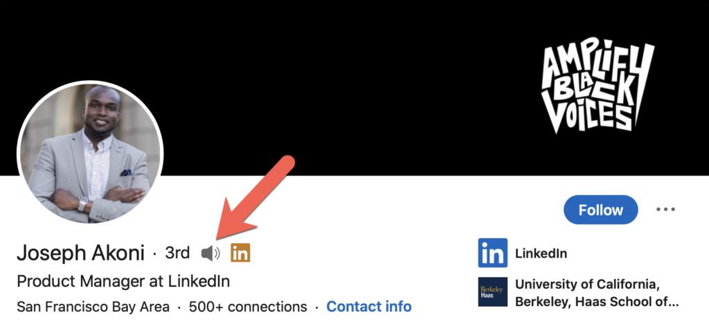 LinkedIn name pronunciation for case studies